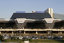 ������� ������ �������� ����, �������������. Sochi International Airport (AER). ����,  �-355, ��������